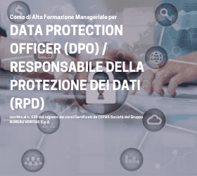 Nuove DATE del corso per diventare Data Protection Officer!